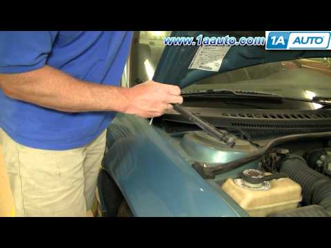 How To Install Replace Sagging Hood Support Strut Dodge Intrepid 93-97 1AAuto.com