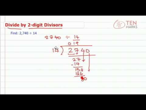 Division by 2 Digit Numbers