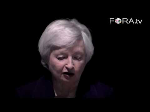 Deflation the Biggest Risk of the Economic Crisis? - Janet Yellen