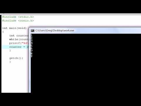 C Programming Tutorial - 7 - More on Loops