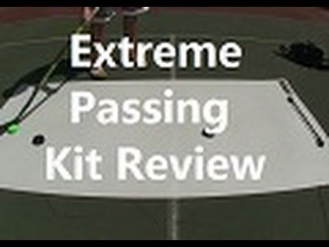 Extreme Passing Kit Review - Hockey Skill pad / Tape 2 Tape
