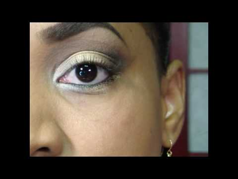 Buck Naked Look using Urban Decay Naked Palette - Tutorial