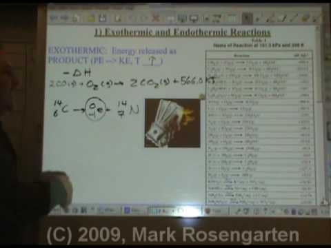 Chemistry Tutorial 9.02a:  Energy In Reactions