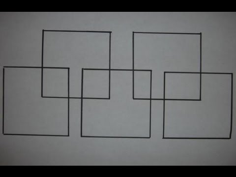 Draw Five Squares