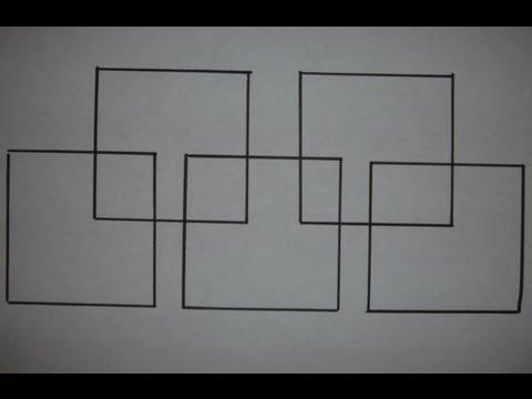 Draw Five Squares