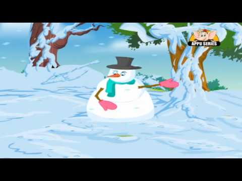 Nursery Rhyme - I'm A Little Snowman