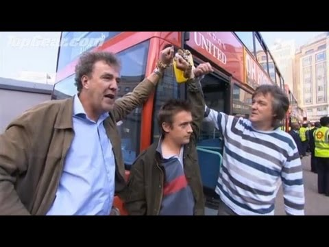 Top Gear - Environment Bus Protest - BBC
