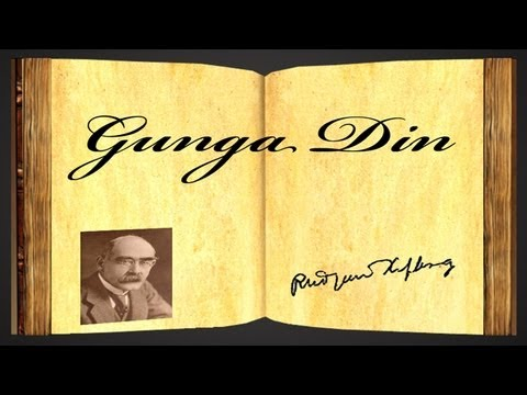 Gunga Din by Rudyard Kipling - Poetry Reading