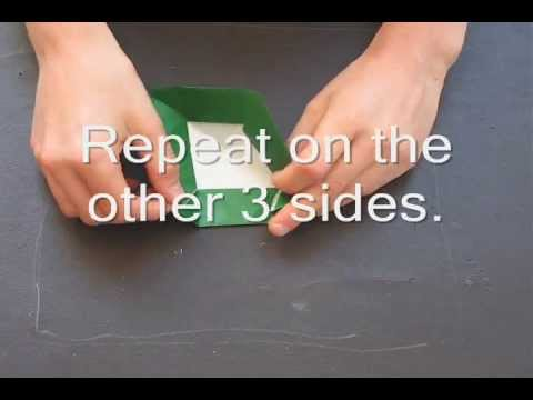 How to fold an origami Monster Mouth designed by Michael Anton