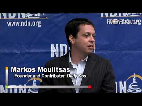 Daily Kos Founder Markos Moulitsas on the New Media