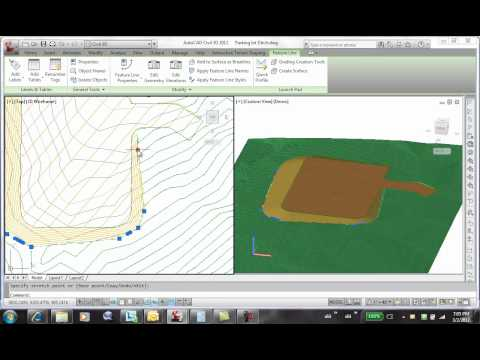 Autodesk Labs: Interactive Terrain Shaping - Advanced Drainage Ditch Tutorial