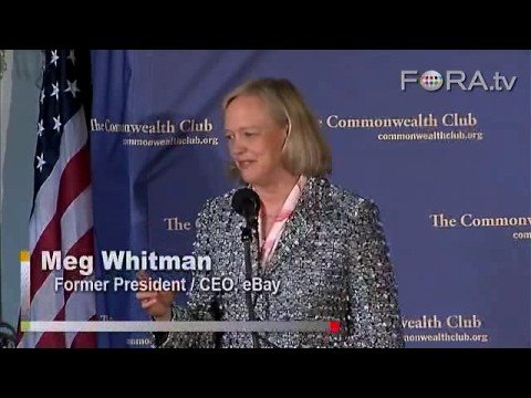 From eBay to the McCain Campaign - Meg Whitman