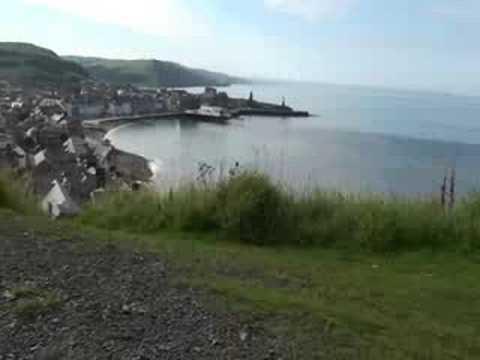 Sony Rolly Takes a look ofer Aberystwyth