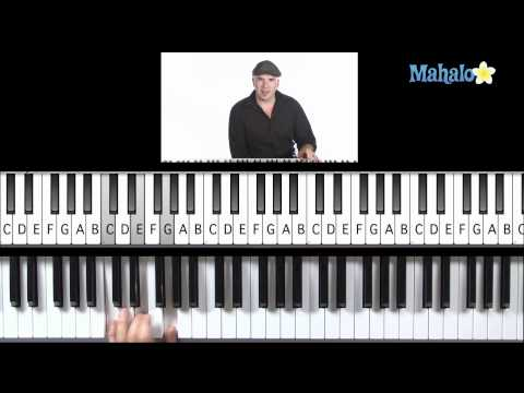Learn Piano HD: How to Play I, IV, V Progression (Left Hand) in F on Piano