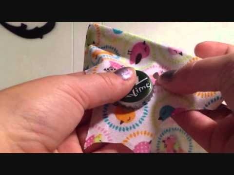 How to make a Pin from a recycled bottle cap