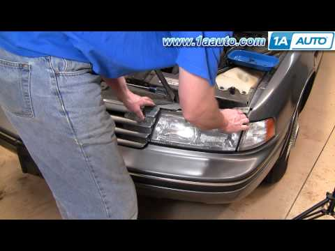 How To Install Replace Headlights Chevy Lumina 90-94 1AAuto.com