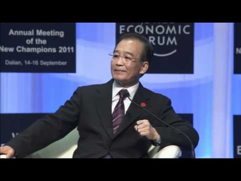 Dalian 2011 - Opening Plenary with Premier Wen Jiabao