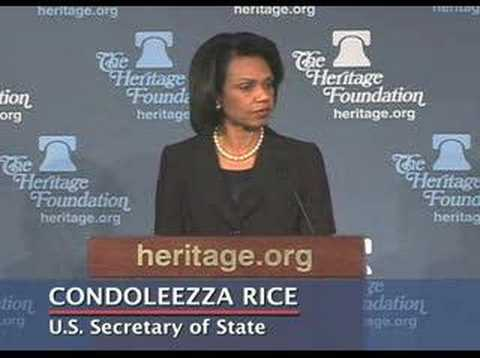 Condoleezza Rice on North Korea's Nuclear Programs