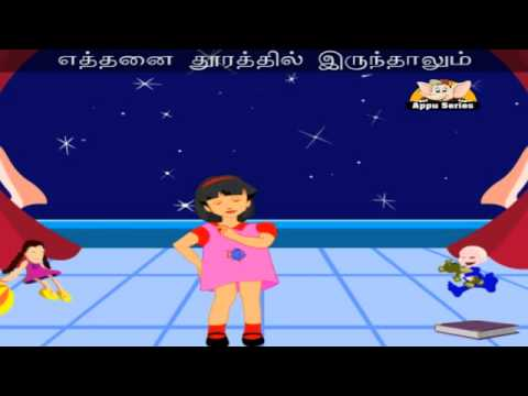 Kannai Simittum Vinnmeenga (Twinkle Twinkle) - Tamil Nursery Rhyme with Lyrics & Sing Along