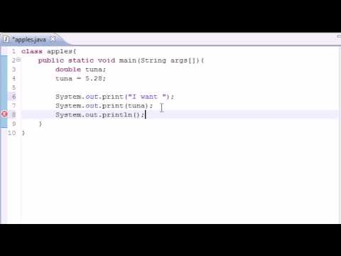 Java Programming Tutorial - 5 - Variables