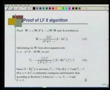 Module 1 lecture 7 Adaptive learning rate