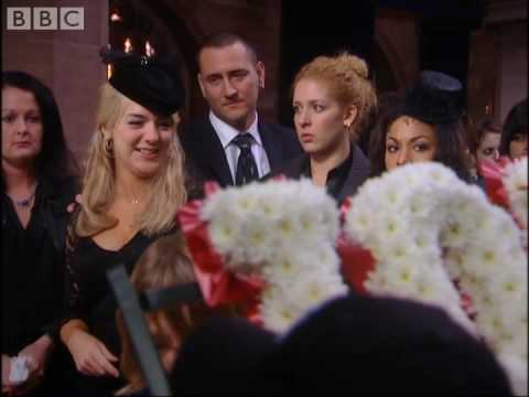 Janet gets hysterical at Jonny's funeral - Two Pints - BBC comedy