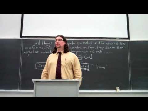The Natural Law (Thomas Aquinas, Summa Theologiae, IaIIae, q. 91 and 94)