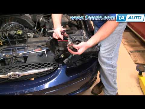 How To Install Replace Headlight Ford Taurus 00-07 1AAuto.com