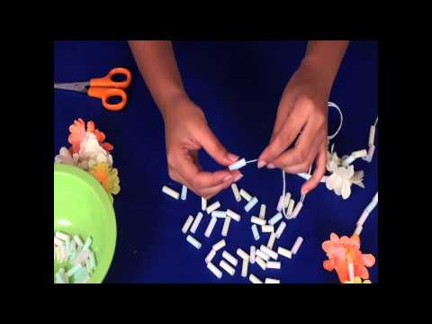How to make a Hawaiian Lace - Arts and Crafts