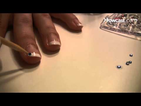 How to Add Rhinestone Nail Tips for a Formal Event