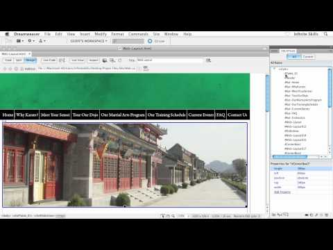Beginners Web Design Tutorial | Creating a HTML Layout in  Photoshop | InfiniteSkills Training