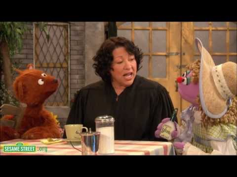 "Sesame Street: Sonia Sotomayor: ""The Justice Hears a Case."""