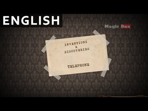 012 Telephone - Early Learning Series - Inventions Discoveries For kids