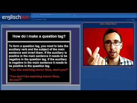 English Grammar | Question Tags