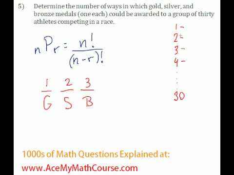 Combinatorics - Permutation Question #5