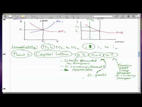 Macroeconomics - 46: Monetary policy and output continued...