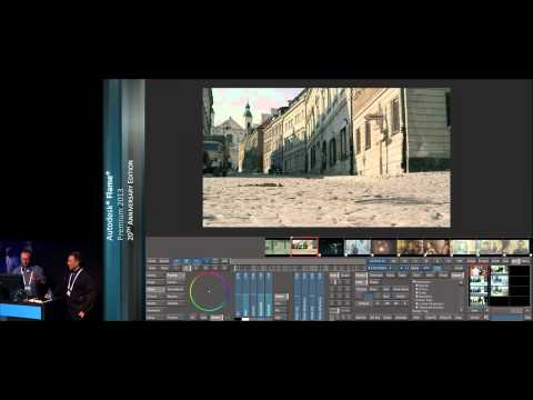 "Autodesk Flame Premium -- Creative Grading & Visual Effects - CinePostproduction - ""In Darkness"""