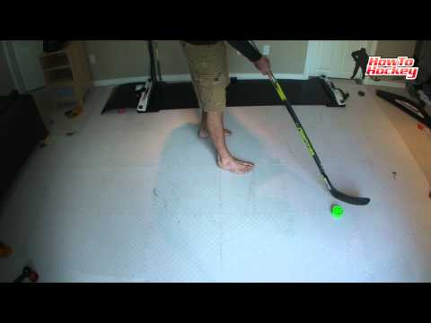 How To Backhand Toe Drag - How To Hockey