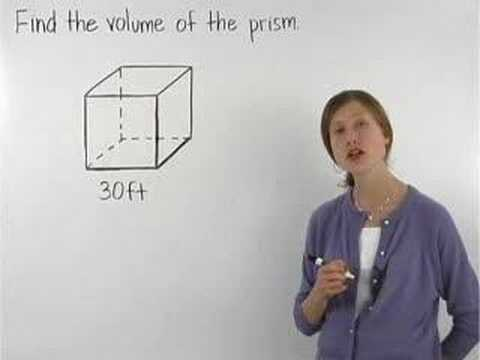 Volume of a Cube - YourTeacher.com - Math Help
