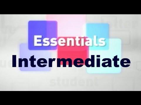 Essentials #05 (Intermediate)
