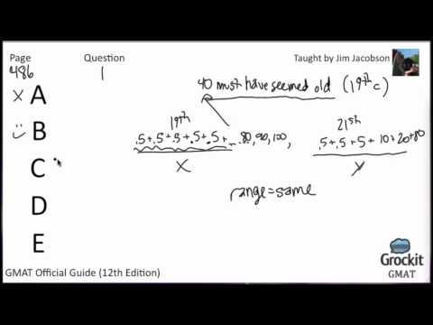 GMAT Verbal Official Guide Sample Lesson 2 (2/5)