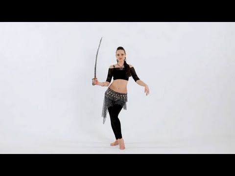 How to Use Belly Dance Props: Sword