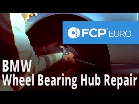 BMW Wheel Bearing Hub Replacement (E39) FCP Euro