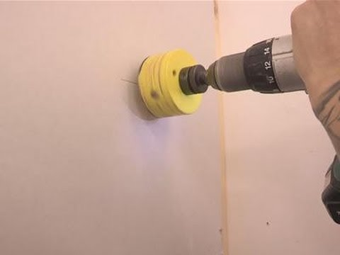 How To Cut Circular Holes In Drywall