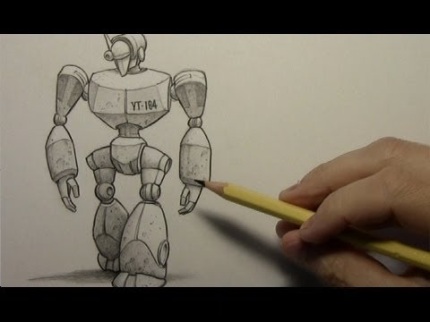 Drawing Time Lapse: Robot