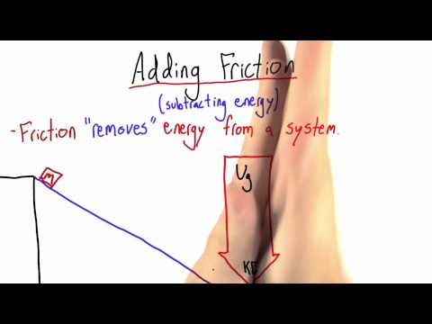 Adding Friction - Intro to Physics - Work and Energy - Udacity