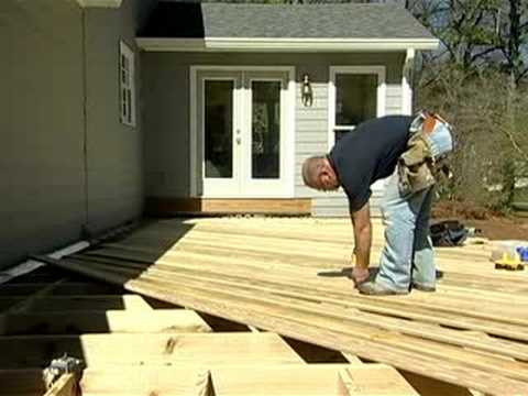 How To Build a Deck Part 4: Laying a Deck - The Home Depot