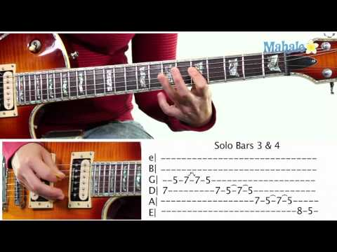 Mahalo Guitar Solo Course: Bars 3 and 4 Practice