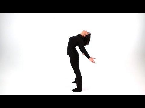 Beginner Jazz Dance Moves: Contraction