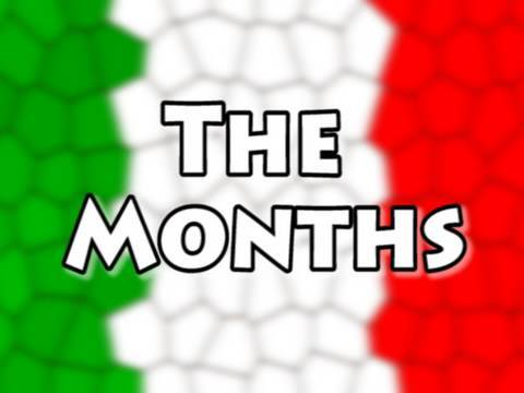English/Italian Lessons: 25- I Mesi, The Months